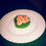 Ricetta light: Gamberi al forno su crema di broccoli