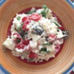 Piatto unico: Insalata di riso alla greca