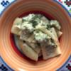 Piatto unico: Paccheri con Broccoli su Fonduta di Taleggio