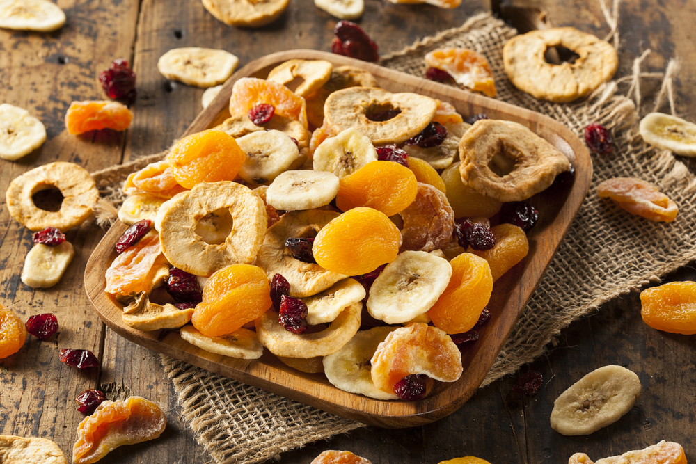 dieta a base di frutta secca